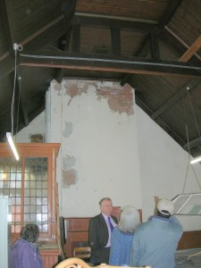 Arthur Moore - Upstairs Hall - Chimney Damage