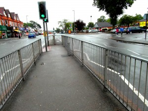Warwick Road - for Smart Route - Cattle Pen Nr.  Oxford Rd.