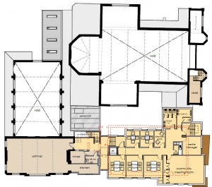 First Floor Plan - AG Baptists scheme 2013- cropped