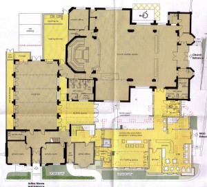 Ground Floor Plan AG Baptists 2013