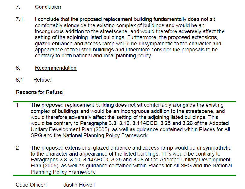 Glynn Edwards p.a. report - Recommend Refuse Nov 2013 - cropped