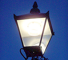 Heritage LED light-sharpened
