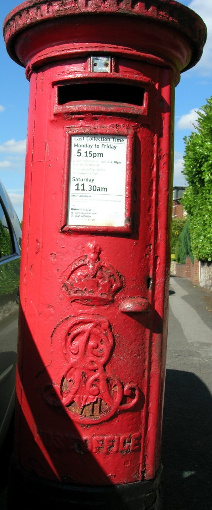 Post Box - neglected - Flint Green Rd-3