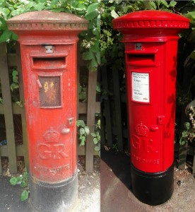 Story of a Neglected Post Box-1 (Sherbourne Road)
