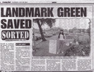 10 Years Ago - Saving the Green at Acocks Green