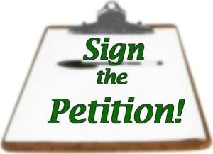 Sign the Petition - image