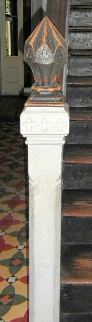 Eastbourne House - Newel Post