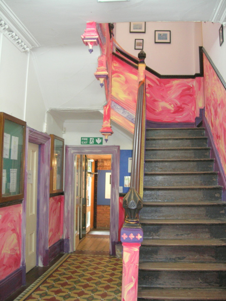 Eastbourne House-Staircase Oct 14