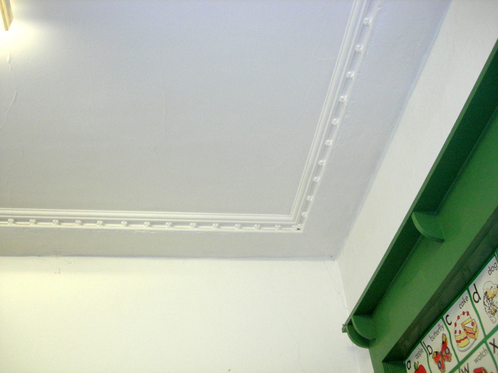 Eastbourne House - ceiling detail-1