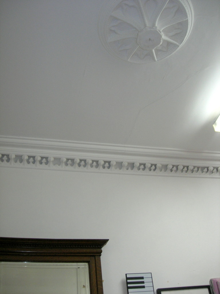 Eastbourne House - ceiling detail-2