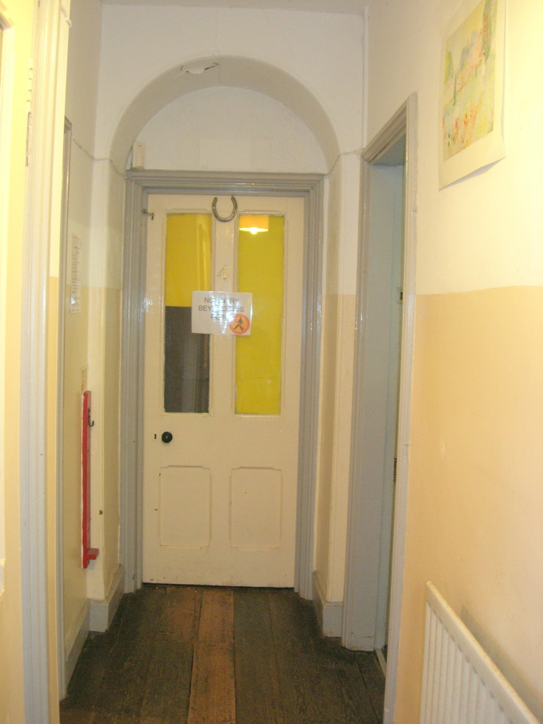 Eastbourne House - doorway